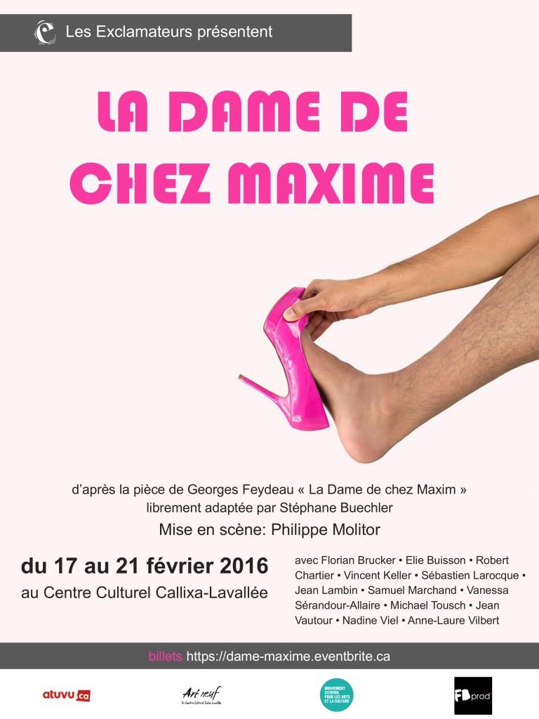 La Dame de chez Maxime (affiche)